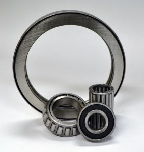 Caster bearings for high heat applications.