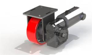 Caster Concepts Drive Casters are perfect for loads over 4,000 lbs. that require two or more people to move.